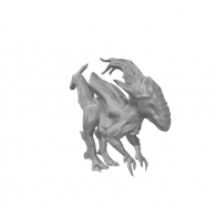 3d model - AlienDog