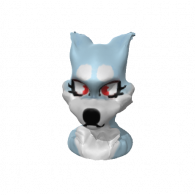 3d model - wolf