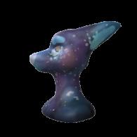 3d model - galaxy dog