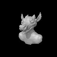 3d model - kobold wip (just needs paint