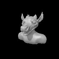3d model - kobold wip (just neede paint