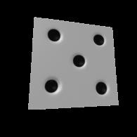 3d model - игровая кость