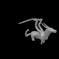 3d model - dragon 1 day 5