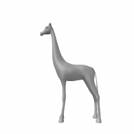 3d model - Girafe