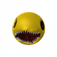 3d model - Scary pacman