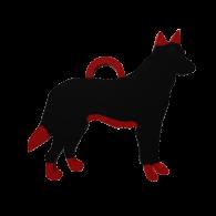 3d model - Pet Tag (german shepard dog)